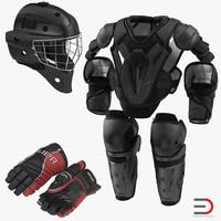 ma hockey protective gear kit