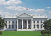 white house 3d max