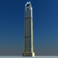 3d elite residence dubai model