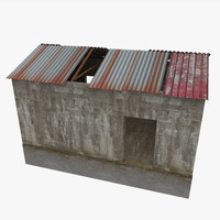shed unity 3d model