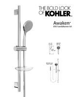 handshower awaken b90 kit 3d model