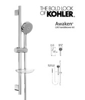 3d handshower awaken g90 kit