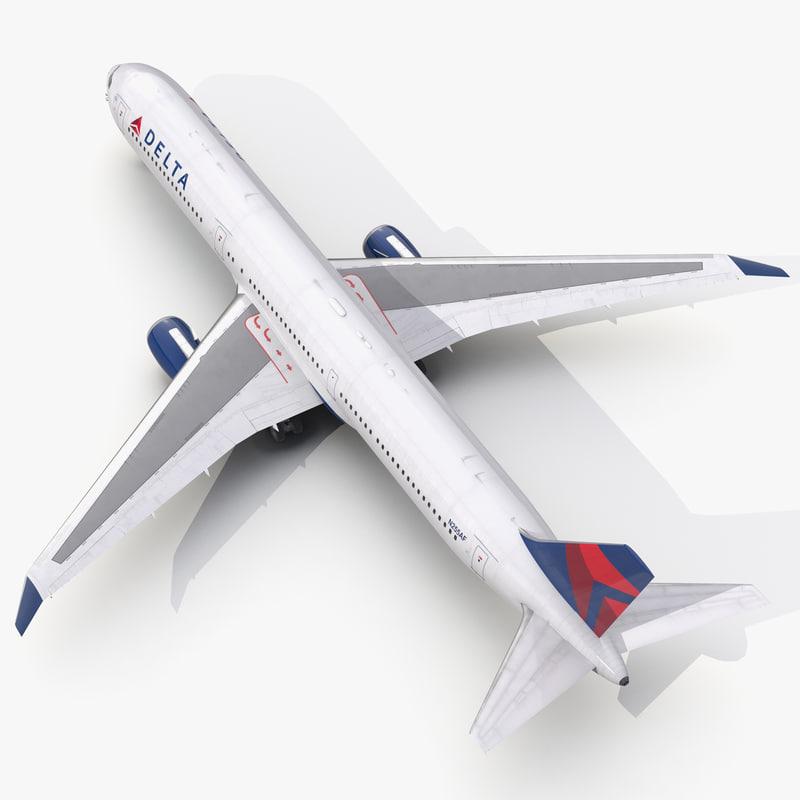 Boeing 767-400ER Delta Air Lines 3d model 00.jpg