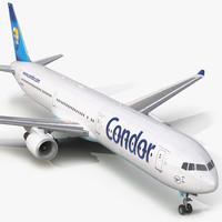 boeing 767-400er condor flugdienst 3d 3ds