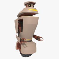 robot character max