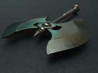 3d axe medieval