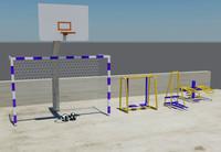 3d max sports set