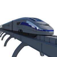 max futuristic train