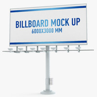 billboard advertising 3d 3ds