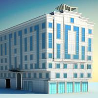 architecture building 3ds