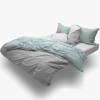 3d bed scandinavian