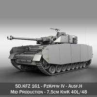 3ds german panzer 4 ausf
