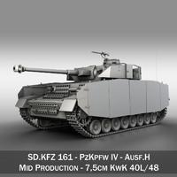 PzKpfw IV - Panzer 4 - Ausf.H