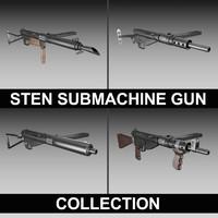 STEN Submachine gun - Collection