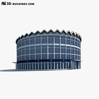rotunda building 3ds