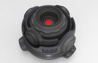 3d robot eye