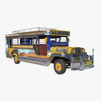 philippine jeepney obj