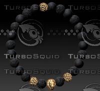 beaded bracelet 3dm