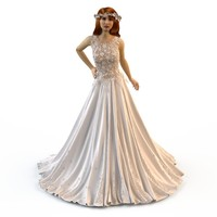3d model fashion zuhair murad wedding