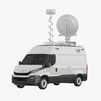 Broadcasting Van