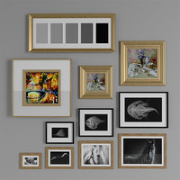 3d model classic frame