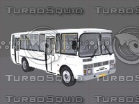 bus russia ukraine 3d 3ds
