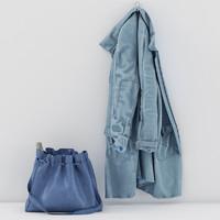 jacket bag 3d obj