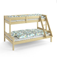 bunk bed jysk 3d max
