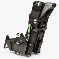 aces ii ejection seat 3d max