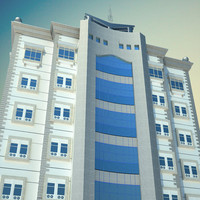 3d architecture building model