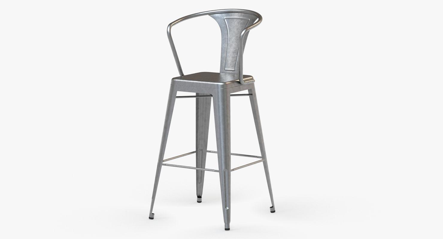 3d model vintage metal bar stool : VintageBarStoolswithbacksmain02jpgba123646 8850 455f bd09 75a9938e7113Original from www.turbosquid.com size 1480 x 800 jpeg 37kB