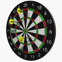 Professional Dartboard with Darts
