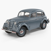 3d moskvich-401 sedan