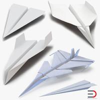 3d paper planes 2 model
