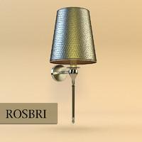 3d model sconce lamp