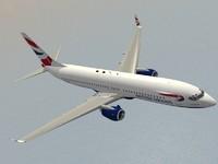 lwo b 737-800 british airways