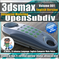 3ds max Advanced Modeling OpenSubdiv English Volume 001
