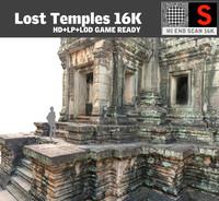 lost temples 16k 3d model