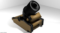 3d 3ds mortar