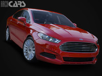 3d model of mondeo fusion