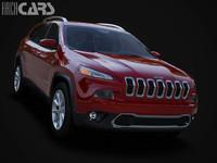jeep cherokee 3d model