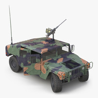 mobility multipurpose wheeled vehicle 3d max