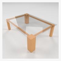 table collada dae 3d model