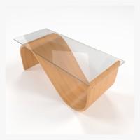 3d table collada dae