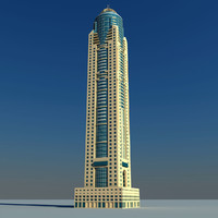 3d max marriott harbour dubai