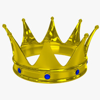 crown 2 3d obj