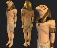 3d horus ra sphinx model