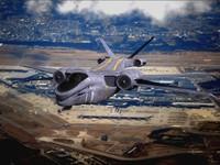 3d model air carrier