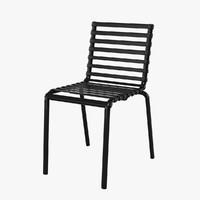 magis striped chair 3d max