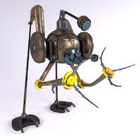robot tr 3d model